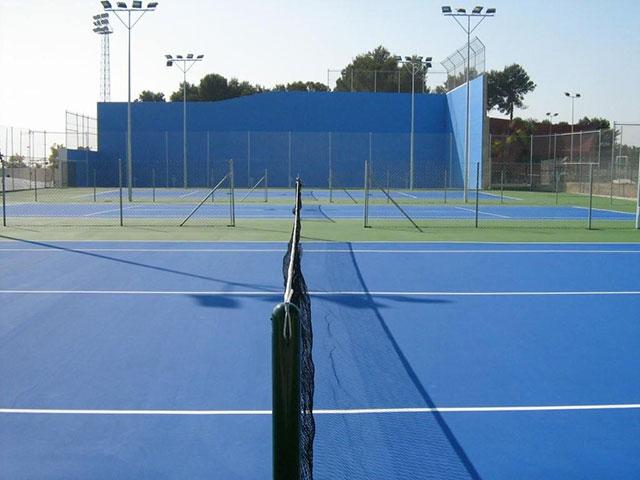 Resinas deportivas pistas tenis