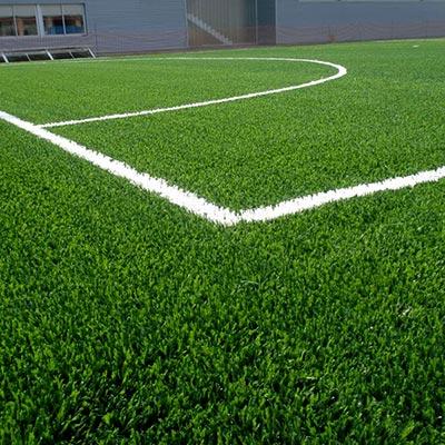 Césped artificial monofilamentos campo fútbol